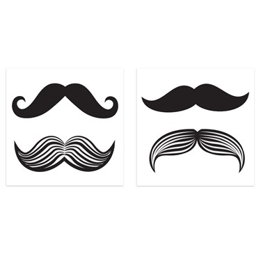 Mustache tattoos 8 for Mustache temporary tattoos