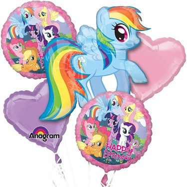 My Little Pony Balloon Bouquet (5)