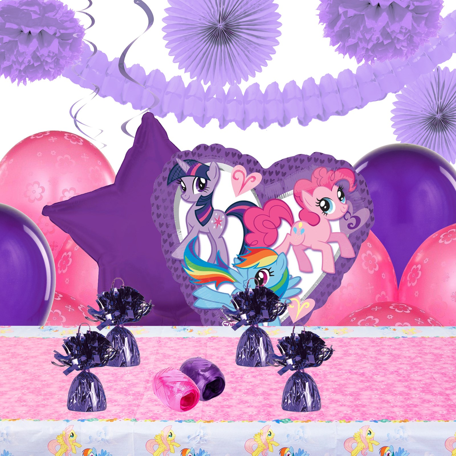 my little pony friendship magic deco kit. Black Bedroom Furniture Sets. Home Design Ideas