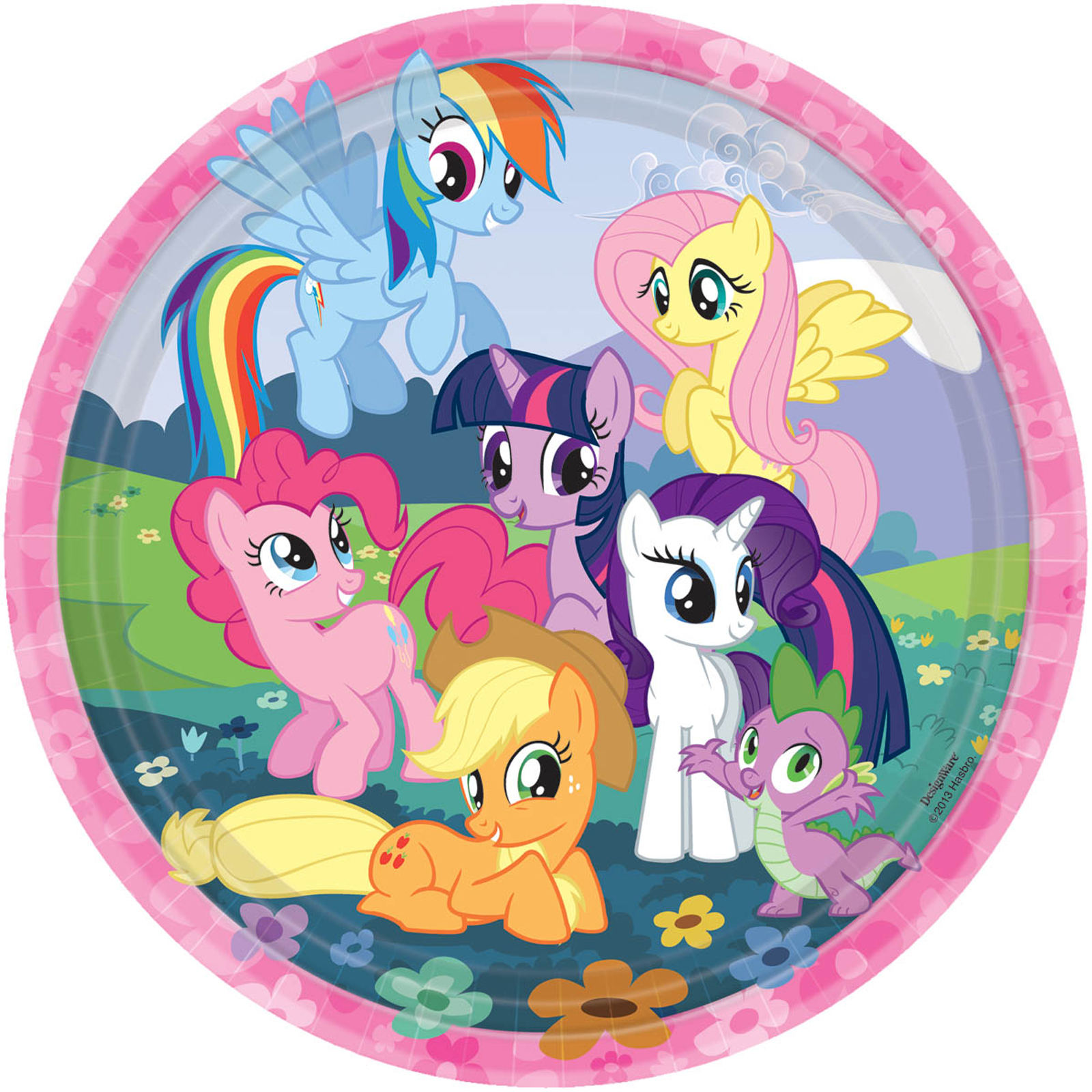 Default Image - My Little Pony Friendship Magic Dinner Plates  sc 1 st  Birthday Express & My Little Pony Friendship Magic Dinner Plates | BirthdayExpress.com