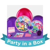 My Little Pony Friendship Magic Party in a Box For 8