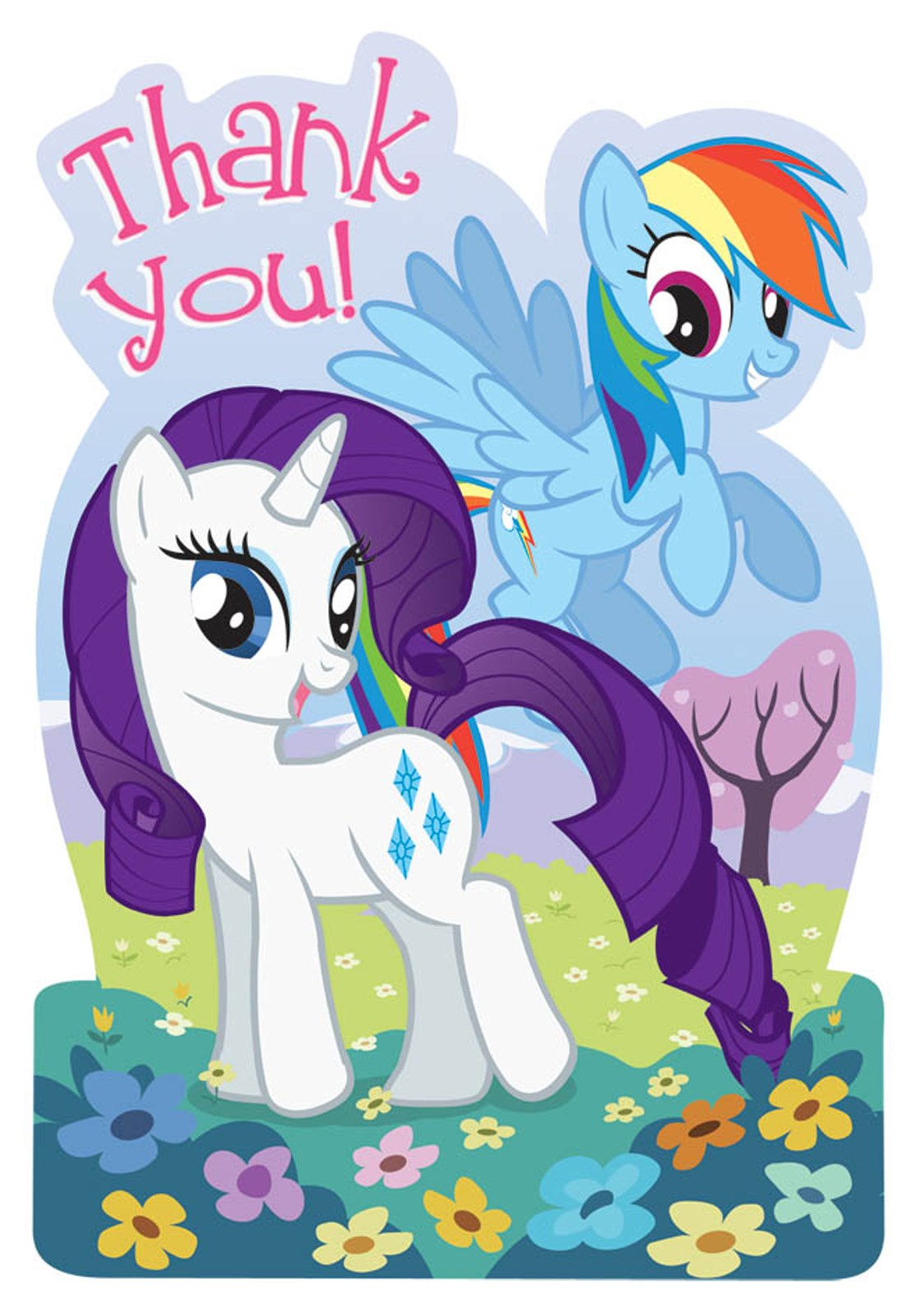 My Little Pony Friendship Magic Thank-You Notes ...