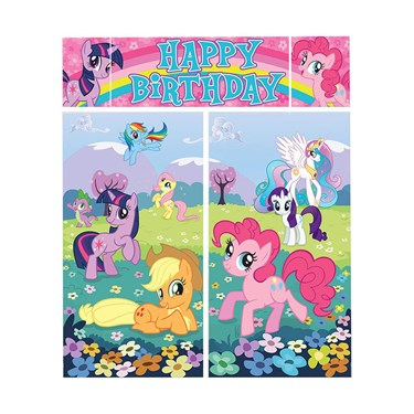 My Little Pony Scene Setter Wall Dec. Ki