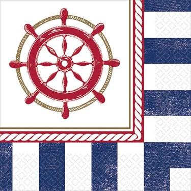 Nautical Beverage Napkins (16 Count)