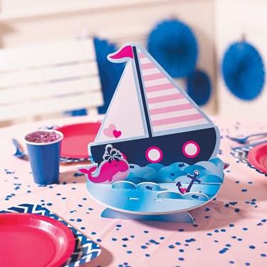 Nautical Pink Centerpiece (1)
