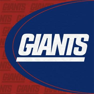 New York Giants Lunch Napkins