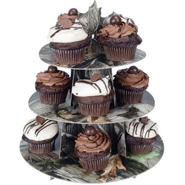 Next Camo Cupcake Stand