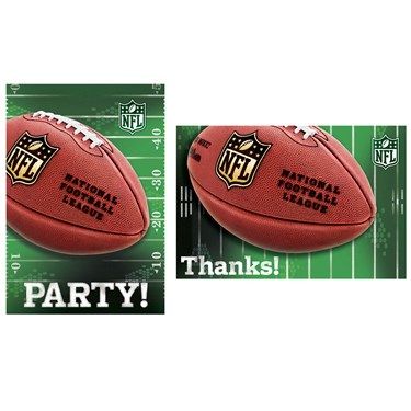NFL Invitation & Thank You Notes(16)