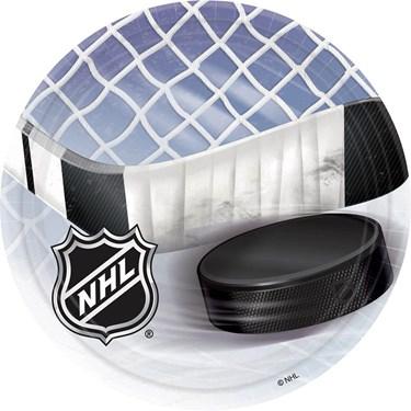Nhl Hockey Luncheon Plates (8)