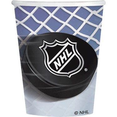 NHL  Ice Time! 9 Oz. Paper Cup (8)
