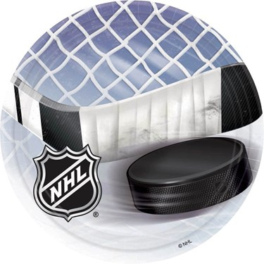 NHL  Ice Time! Dessert Plates (8)