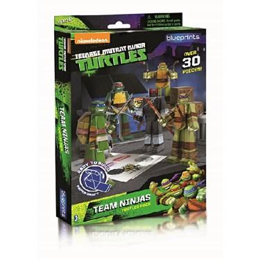 Nickelodeon Teenage Mutant Ninja Turtles Paper Craft - Team Ninjas Turtle Pack