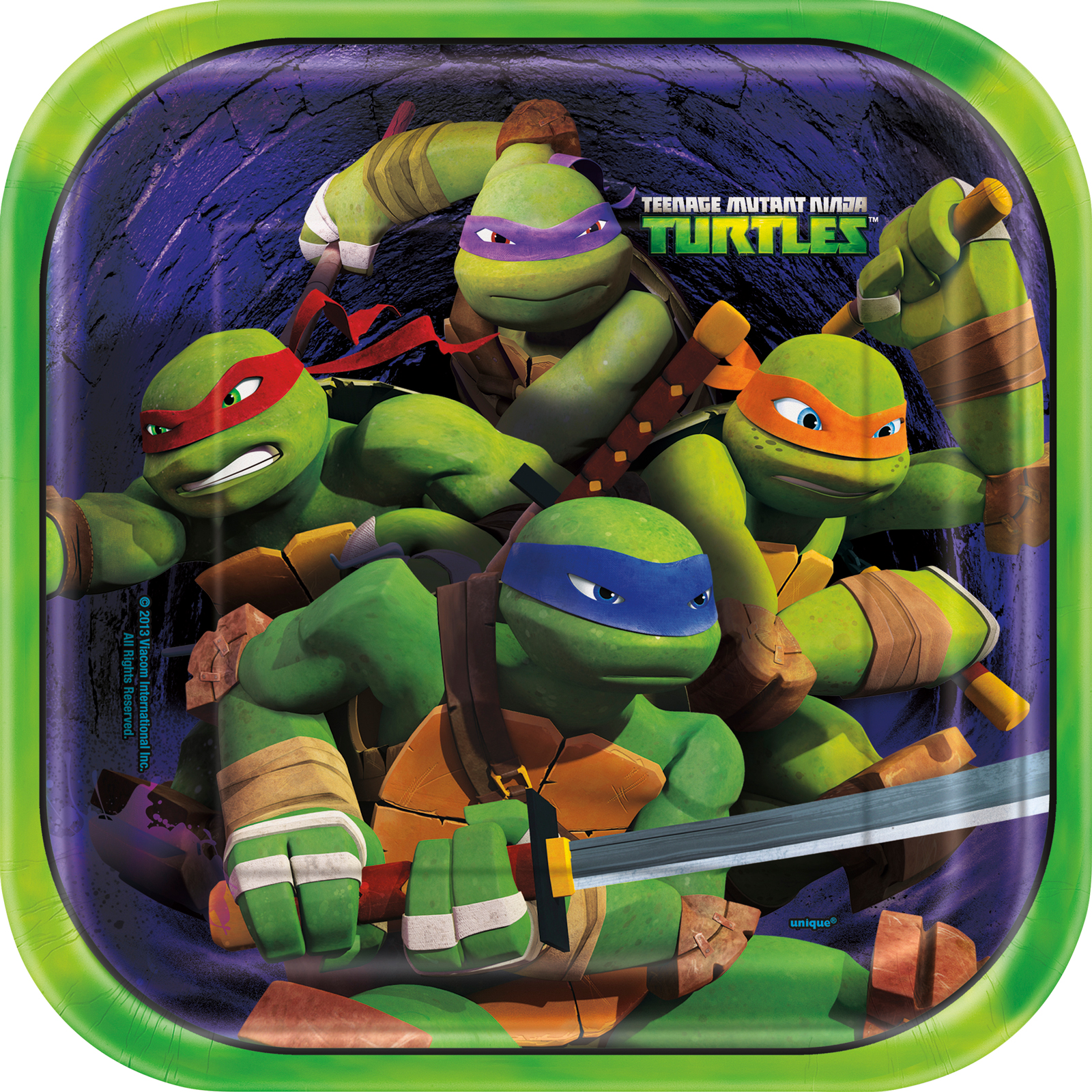 teenage mutant ninja turtles party in a box for 8, Party invitations