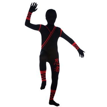 Ninja Skin Suit Kids Costume