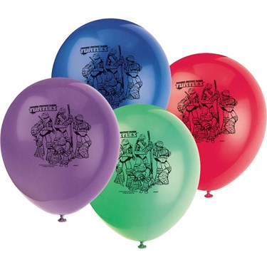 Ninja Turtles 12 Balloons (8)