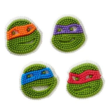 Ninja Turtles Edible Icing Decorations