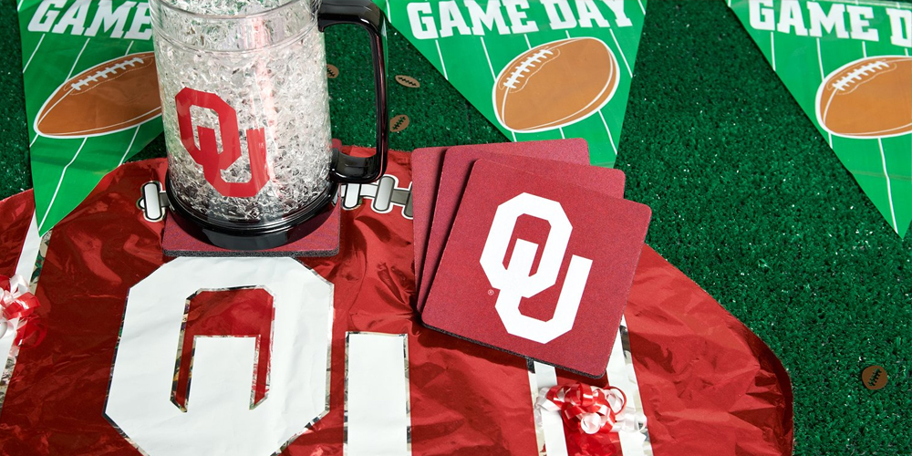 Alt. Image (1) - Oklahoma Sooners Party in a Box