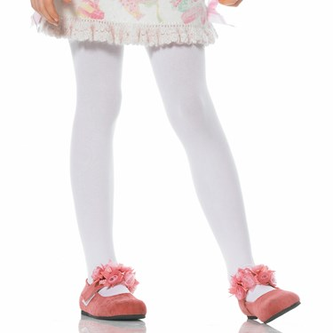 Opaque Tights (White) Child