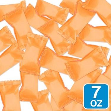 Orange Wrapper Buttermints 7oz Bag (each