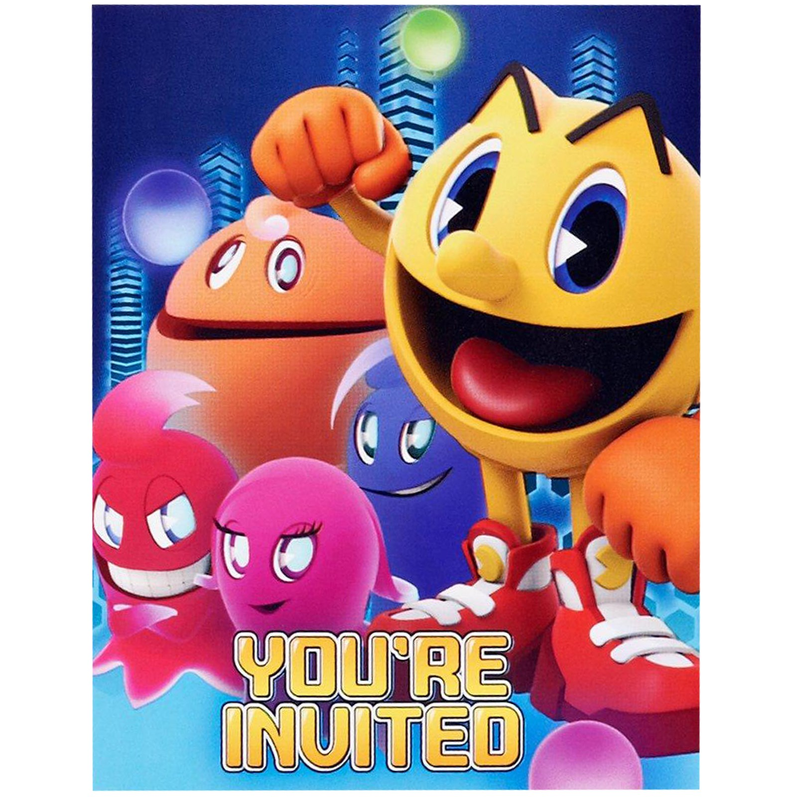 PAC MAN and the Ghostly Adventures Invitations