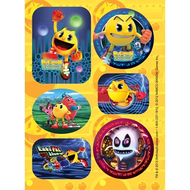 PAC-MAN and the Ghostly Adventures Sticker Sheets