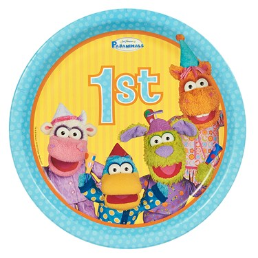 Pajanimals 1st Dinner Plates