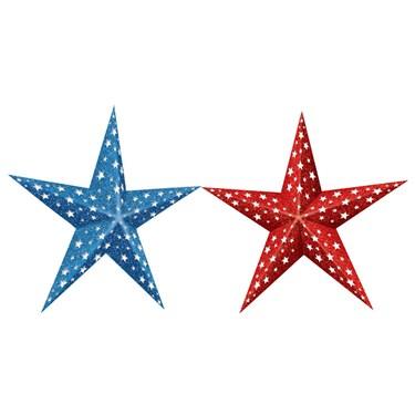 Paper Stars - Patriotic