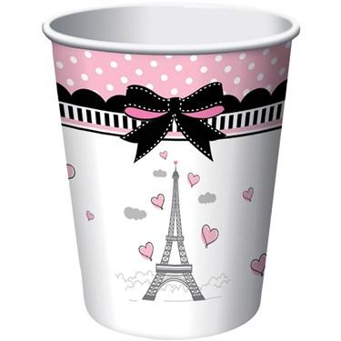 Paris Party 9oz Cups (8)