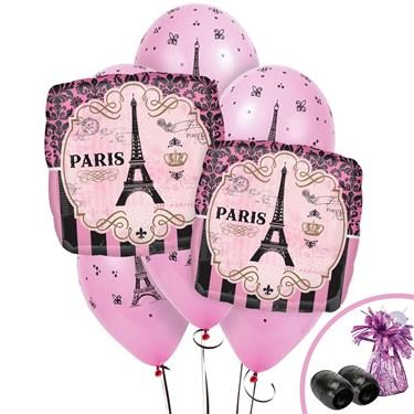 Paris Party Jumbo Balloon Bouquet