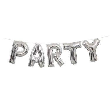 Party Balloon Letter Banner