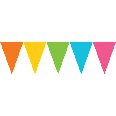 Pastel Paper Pennant Banner
