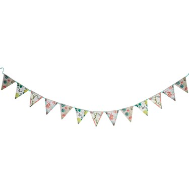 Pastries & Pearls Printed Flag Banner