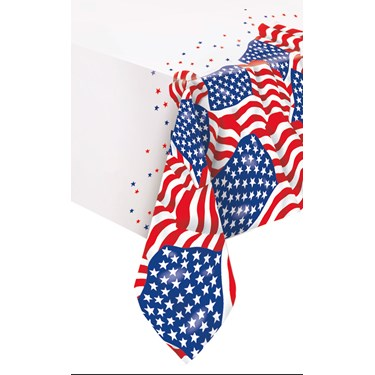 Patriotic USA Flag Tablecover