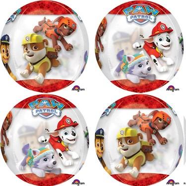 "Paw Patrol 16"" Orbz Balloon (1)"