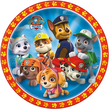 Paw Patrol Boy Dinner Plate