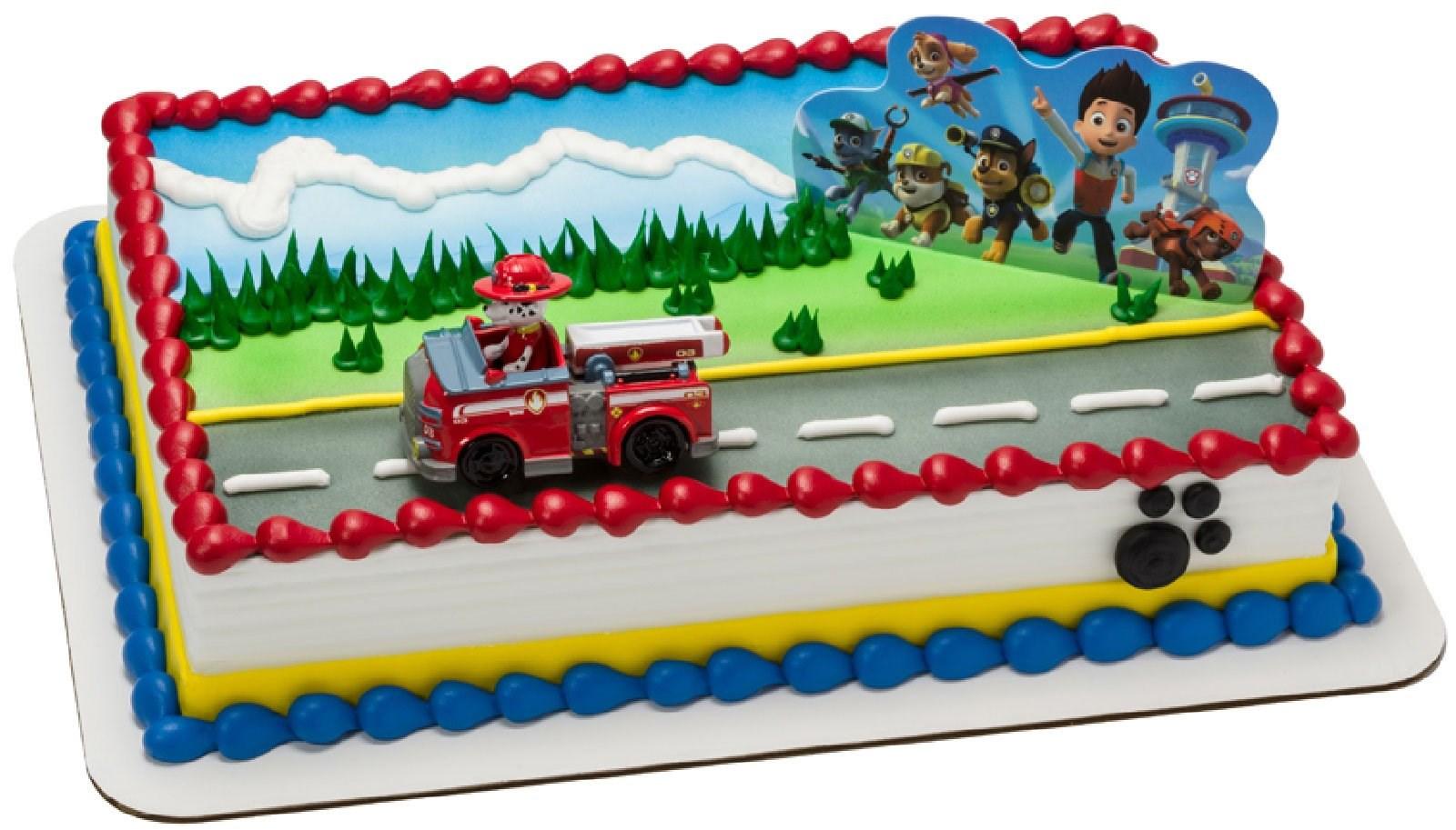 Monster Truck Birthday Caks