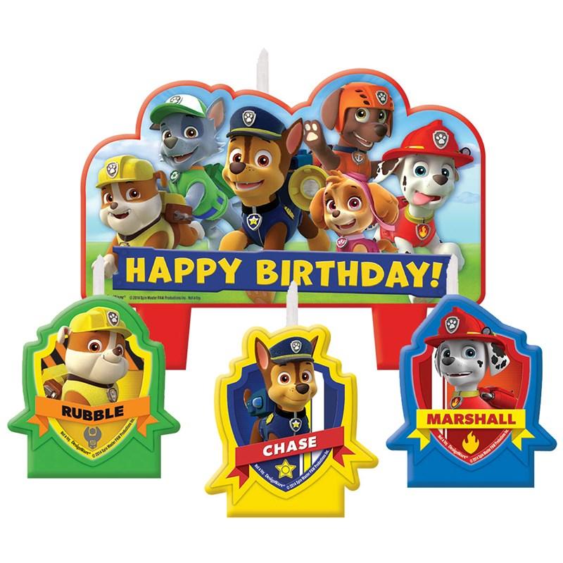 Paw Patrol Candle Set Birthdayexpress Com