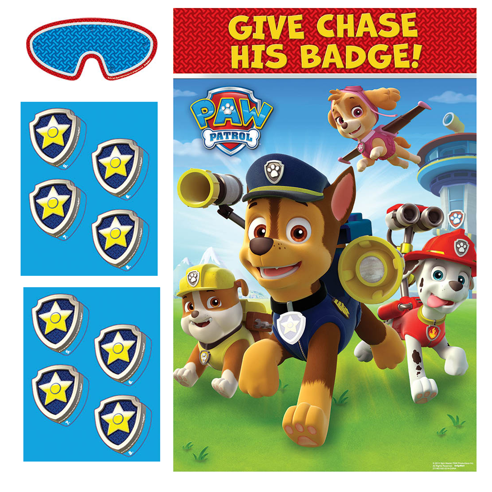 Paw patrol holiday party game images