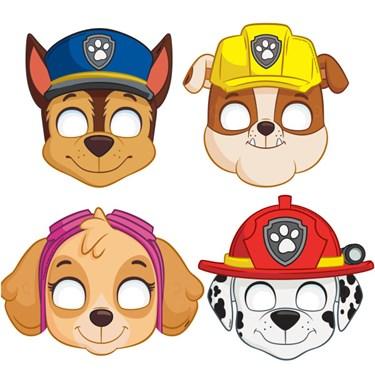 Paw Patrol Party Masks(8)