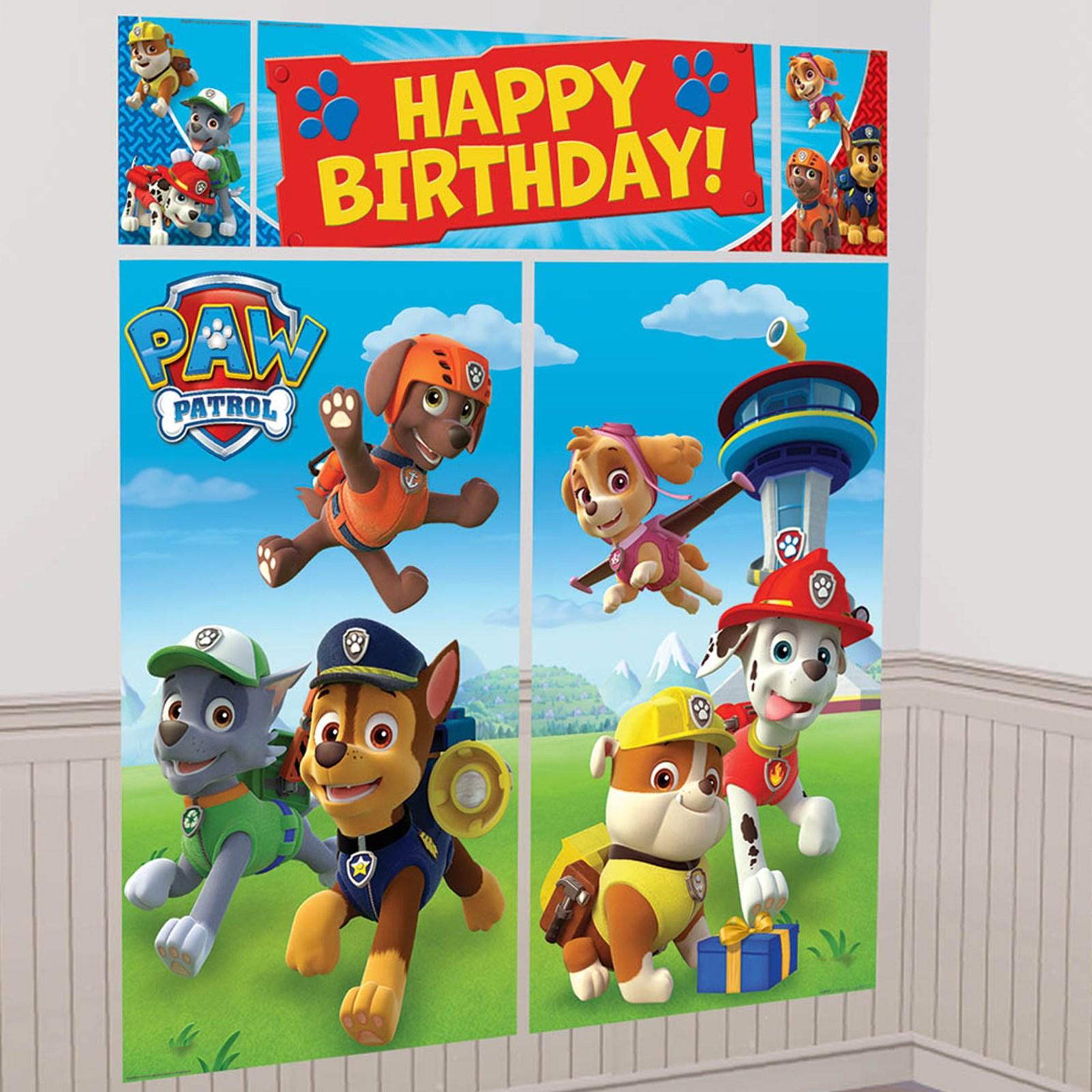 PAW Patrol Scene Setter BirthdayExpresscom