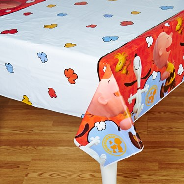 Peanuts Plastic Tablecover