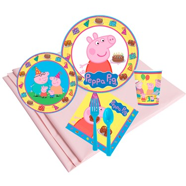 Peppa Pig 24 Guest Party Pack
