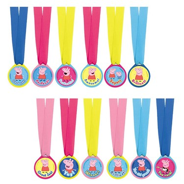 Peppa Pig Award Medals (12)