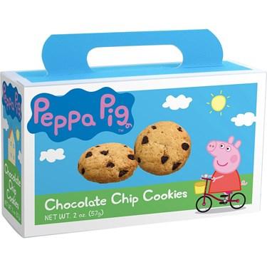 Peppa Pig Chocolate Chip Cookies 2oz Box (Each)