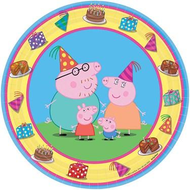 Peppa Pig Dessert Plates