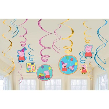 Peppa Pig Hanging Swirl Value Pack (12)