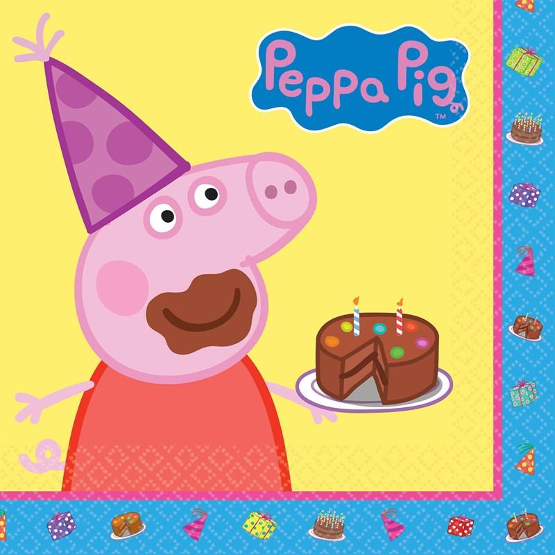 Peppa Pig Birthday Cake Clipart