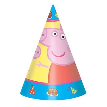 Peppa Pig Party Hats (8)