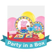 Peppa Pig Party in a Box For 8