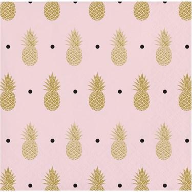 Pineapple Wedding Beverage Napkin (16)